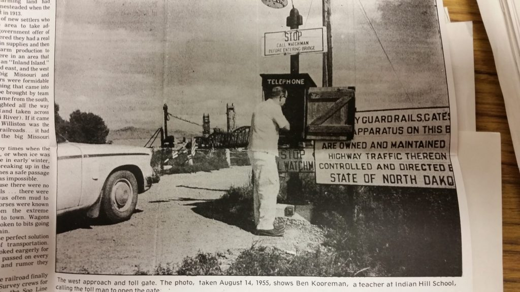 """Back in """"the day,"""" The Nohly/Snowden Bridge"""