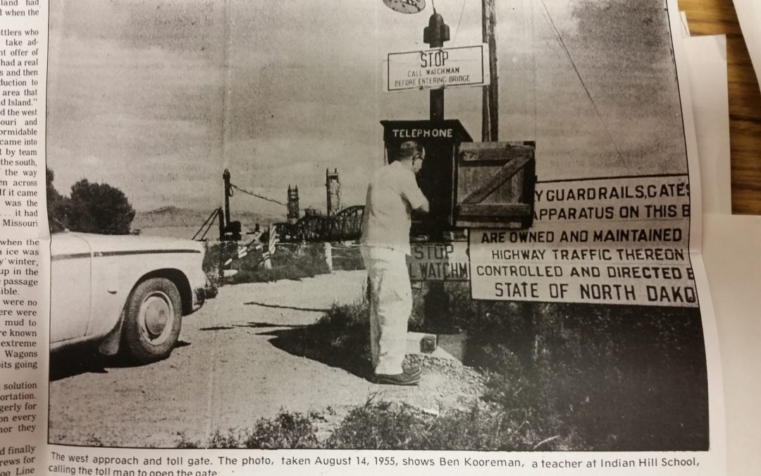 Throwback Thursday — the days of dual danger and purpose on Snowden and Fairview Bridges — Yikes!