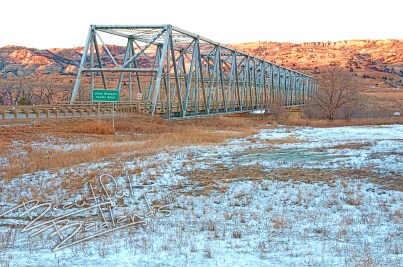 A short history of the Longhorns on the Long X trail includes the Long X Bridge