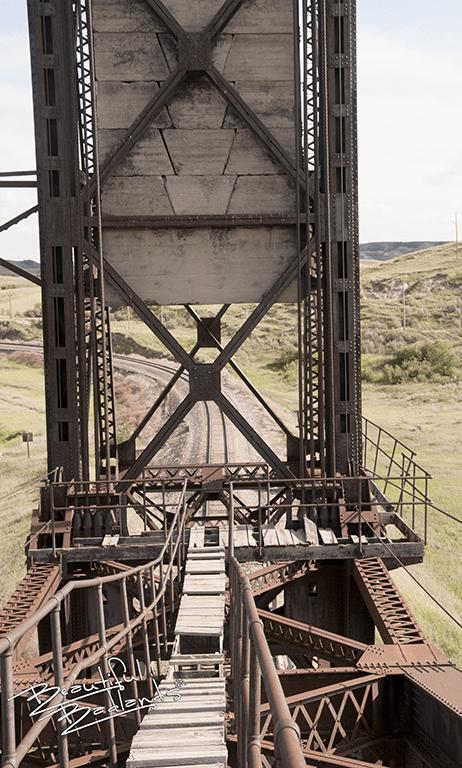 The Snowden Lift Bridge lifting mechanism