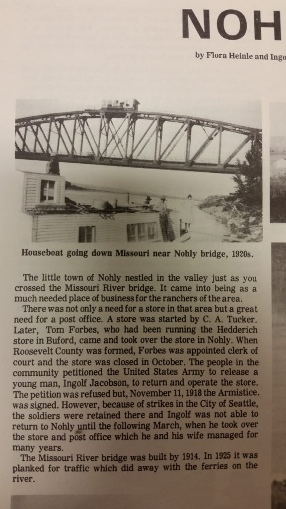 """Back in """"the day,"""" The Nohly/Snowden Bridge  Snowden Bridge ferry about to go out of business in this Throwback Thursday."""
