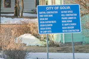 North Dakota Highway 16 Golva