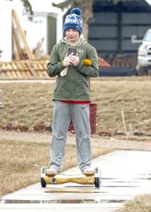boy hoverboard personal transporter scooter self balancing