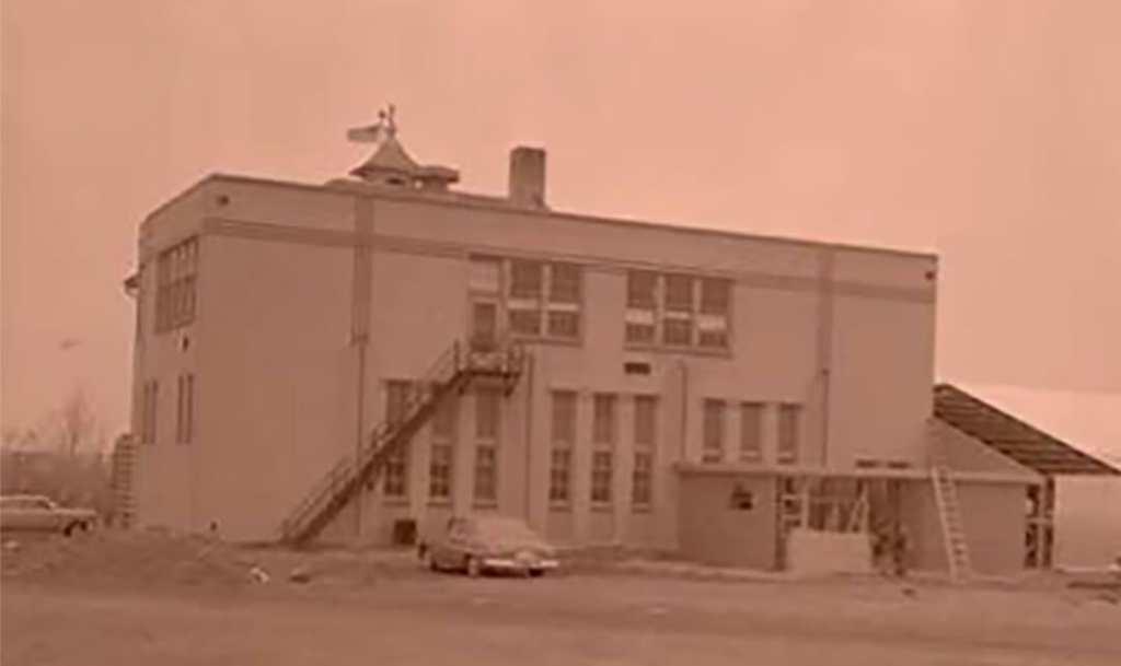 Arnegard School 1954