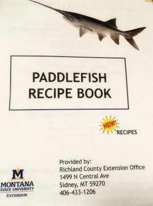 Paddlefish Recipe Book is free.
