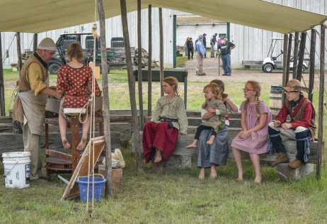 The potters wheel was a big attraction at the Fort Union Rendezvous. 7 reasons