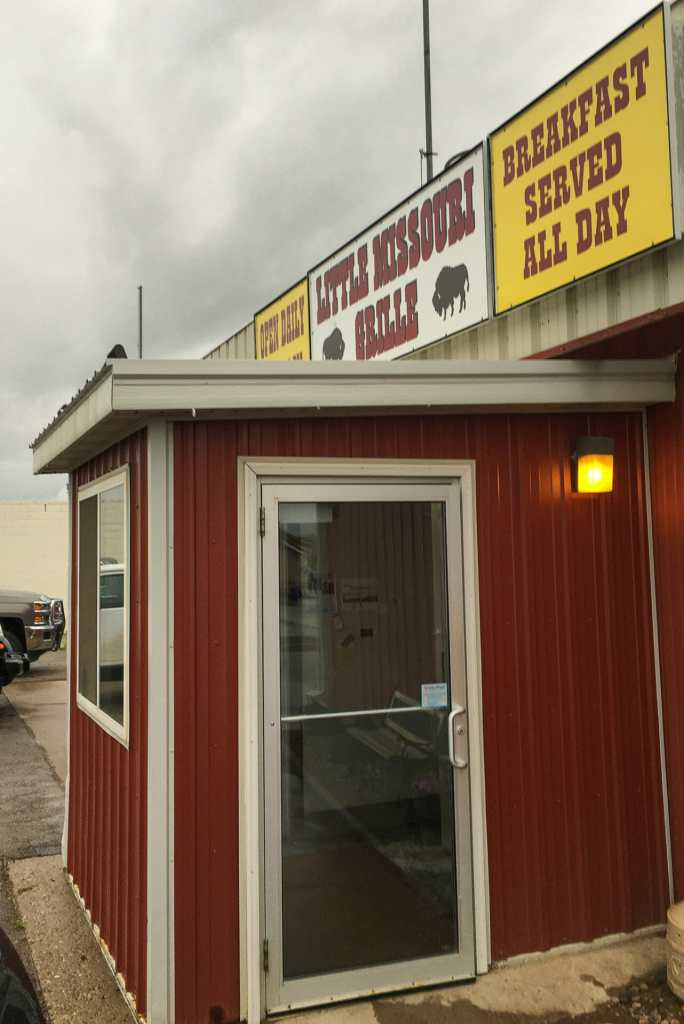 The Little Missouri Grille in Watford City, North Dakota can fill the hardiest appetite.