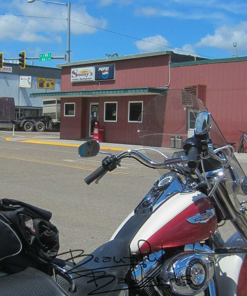 Our riding day began at Sunny's Family Restaurant in Sidney, Montana