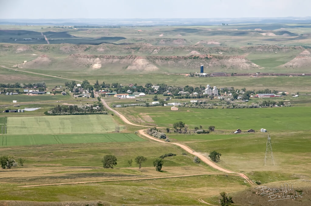 town of sentinel butte