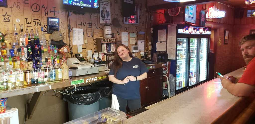 You'll find smiling faces and efficient service at Burly's!
