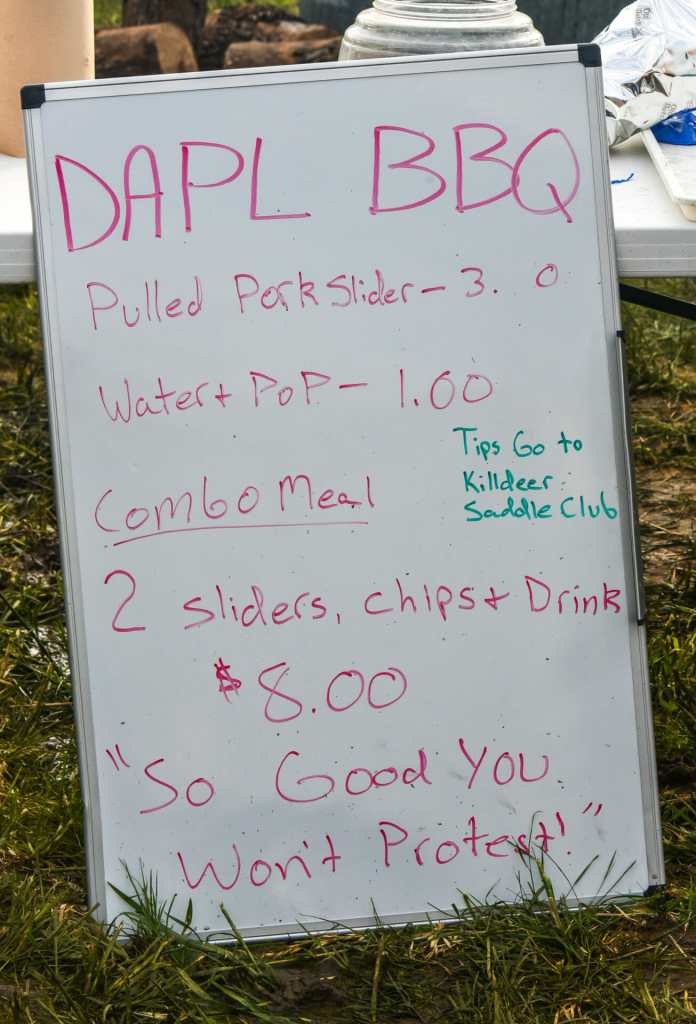 DAPL BBQ is simple and straight forward.   Fine barbecue does not need numerous amendments to make it good!