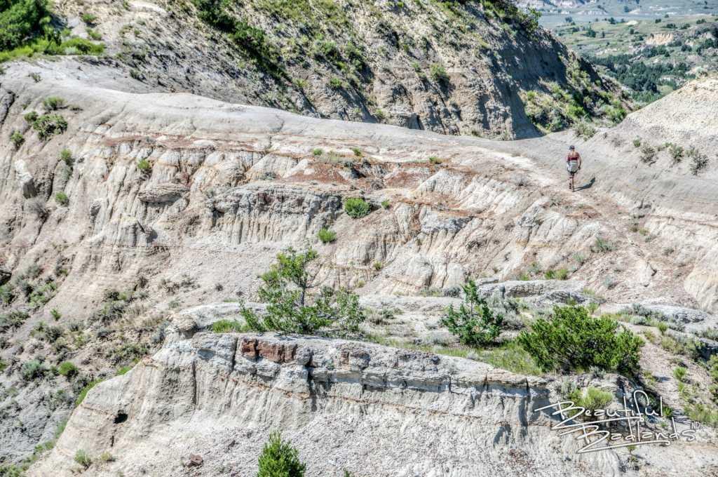 hot hike narrow trail