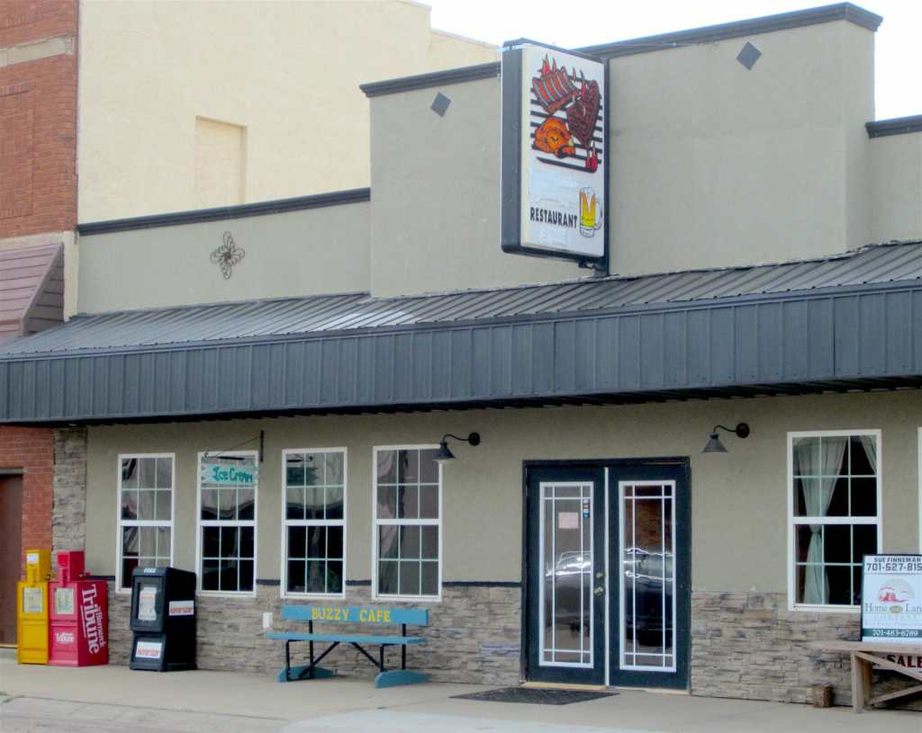 Buzzy Cafe in Beach, North Dakota has good food and friendly service!