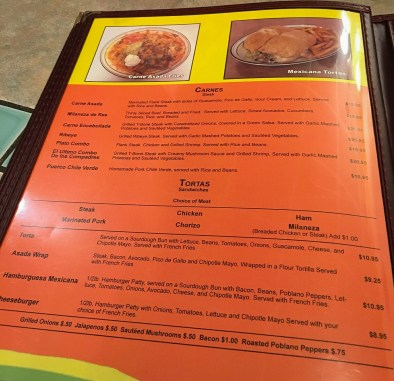 Los Compadres features a multitude of menu options!