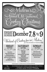 Medora Old Fashioned Christmas poster