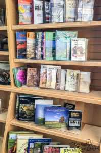 Extensive Book Selection of Chateau de Mores Interpretive Center, Medora, North Dakota