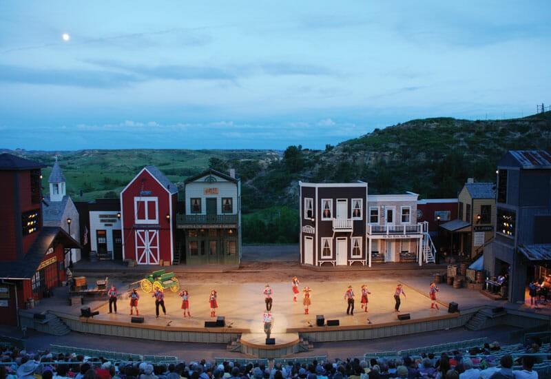 Medora Musical badlands burning hills singers