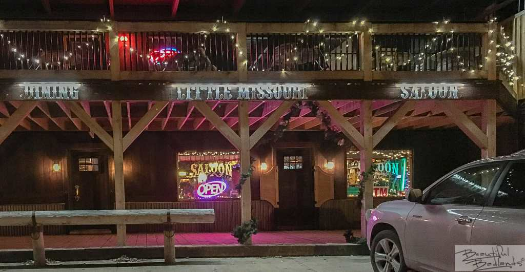 A Welcome Place to Warm Up in the Winter, Little Missouri Saloon & Dining