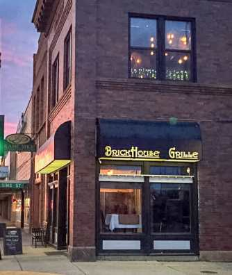 BrickHouse Grille, Dickinson, North Dakota. Photo courtesy BrickHouse Grille Facebook page.