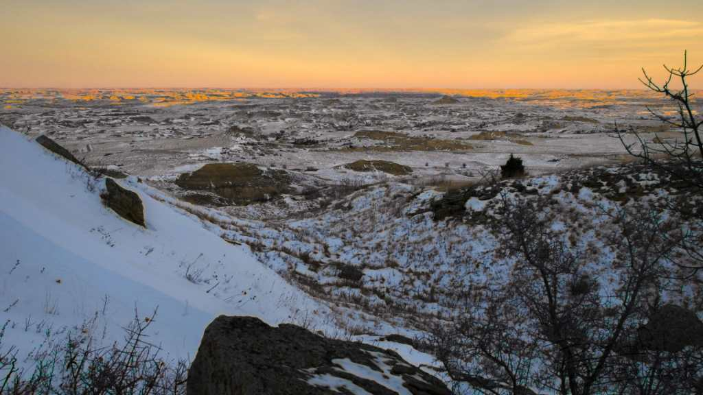 Nearing the Top of Square Butte, North Dakota Badlands