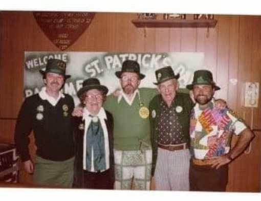 Annual St. Patty's Day Party, Pastime Bar & Lounge, Inc., Hettinger, North Dakota