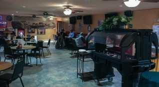 Salad Bar at the PDQ Club in Arnegard, North Dakota