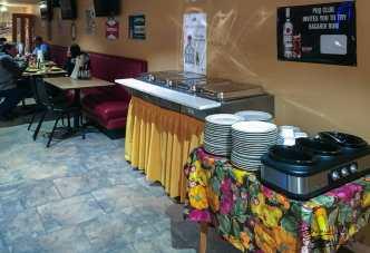 Buffet Service at the PDQ Club in Arnegard, North Dakota