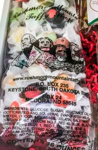 """The most consistent review of Rushmore Mountain Taffy in Medora, North Dakota is """"Best Taffy Ever!"""""""