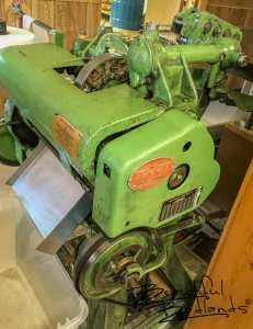 This vintage machine has helped make tons (literally!) of candy!