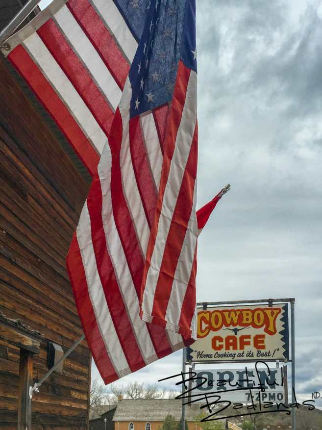 All American! Cowboy Cafe, Medora, North Dakota