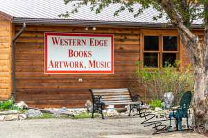 The best bookstore in the region is Medora's Western Edge Books, Artwork & Music. It's filled with both fiction and non fiction for all ages, and is a wealth of historical information about the area. Adjacent Amble Inn provides extra hospitable, moderately priced lodging, including hostel space.