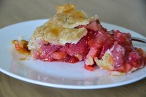 Home Made Rhubarb Pie!