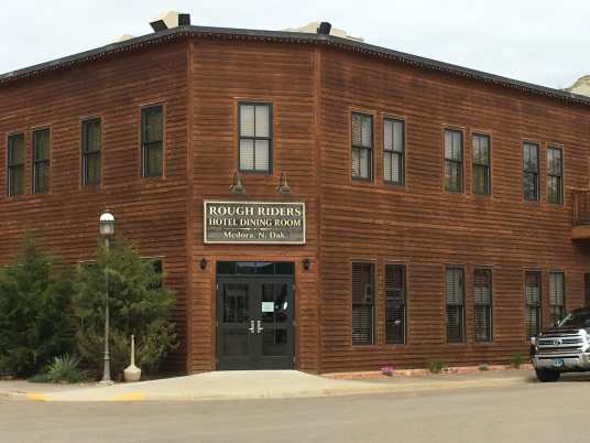 bloggers and writers will be at the Roughrider Hotel Medora
