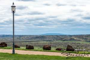 Looking South to Bullion Butte, from Tjaden Fondue Terrace, Medora, North Dakota