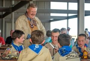 The Scouts and Theodore Roosevelt, Tjaden Fondue Terrace, Medora, North Dakota