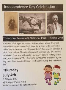 Independence Day Celebration, north unit Theodore Roosevelt National Park, Watford City, North Dakota