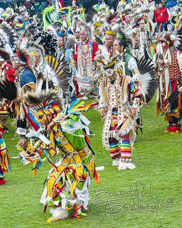 teen regalia powwow little shel MHA Nation