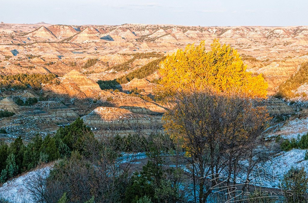 Enjoy rare beauty when weather changes in the Badlands