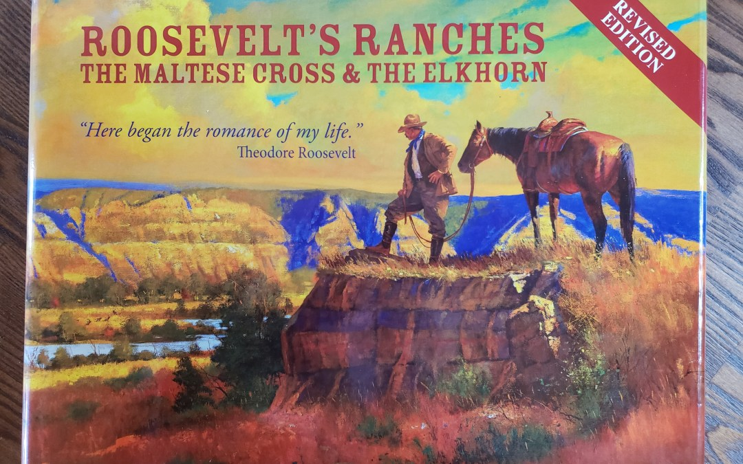 Like a true old west story? Roosevelt lived the wild west in this book.