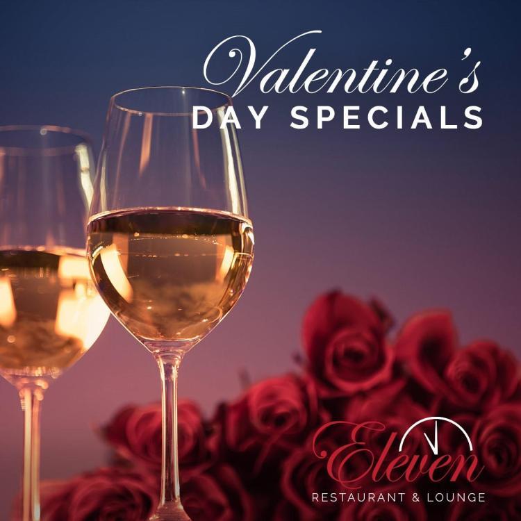Valentines Dinner at Eleven Restaurant & Lounge at The Williston, Williston, North Dakota