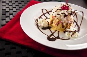 Dessert at Basil Sushi Bar & Asian Fusion, Williston, North Dakota