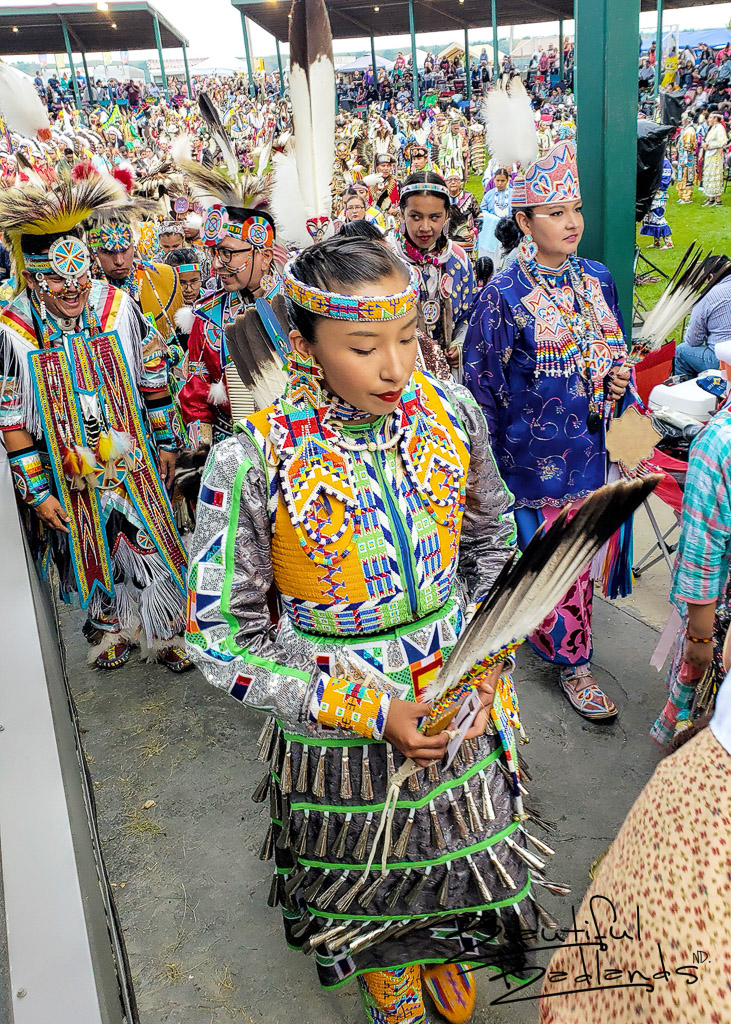 Dancers at Little Shell Powwow, North Dakota 2019