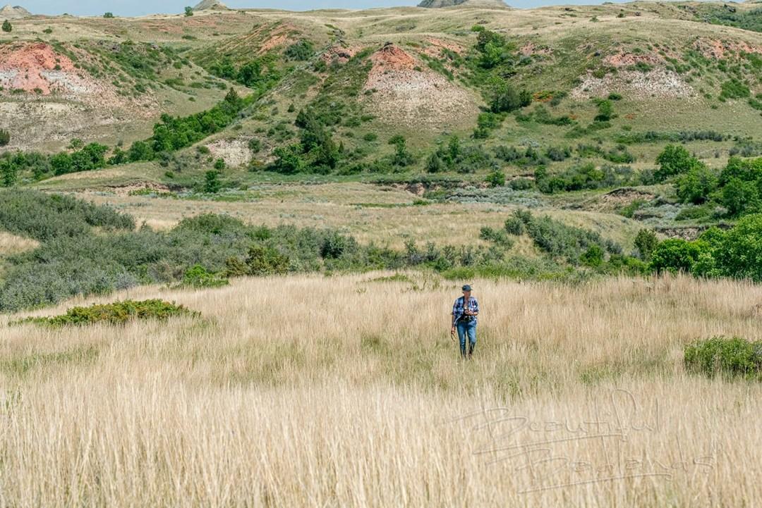 tall prairie grasses at snow camp