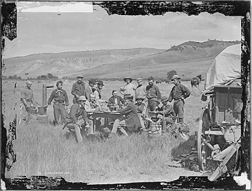 1870 Cattle Drive meal
