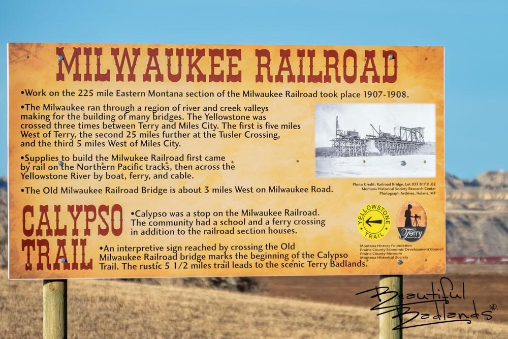 Milwaukee RR Bridge and the Calypso Trail