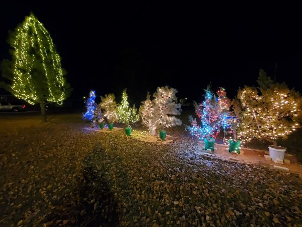 Christmas Lights in Wibaux, Montana.  More information here: https://www.facebook.com/Wibaux-Montana-Chamber-of-Commerce-390268765085033