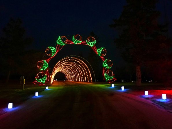 The annual Christmas light display at Spring Lake Park in Williston tops the list of favorite Christmas lights drives in western North Dakota and Eastern Montana. Photo from Facebook.