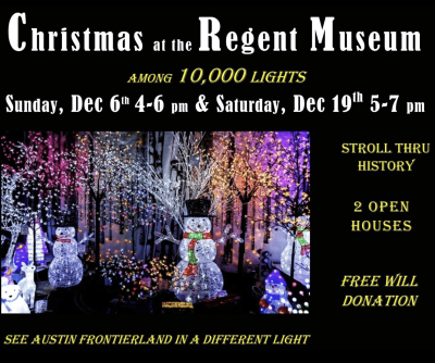 Stroll through history in two open houses, Dec. 6th and Dec. 19, 2020. Photo courtesy Hettinger County Historical Museum Facebook page.