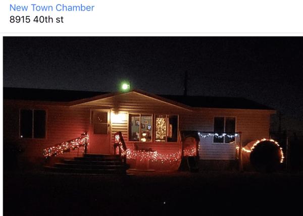 Christmas Spirit rocks in New Town, North Dakota!  More information here: https://www.facebook.com/newtown.chamber.58
