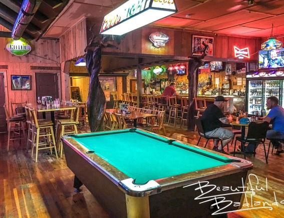 Burly's Roughrider Bar & Steakhouse in Belfield, North Dakota